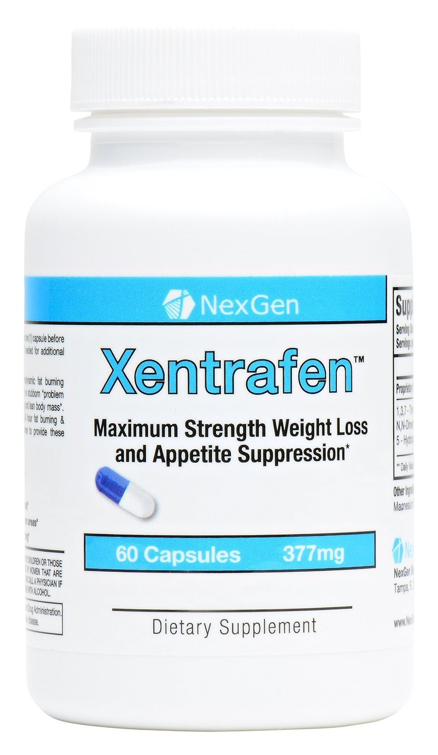 Xentrafen PM Weight Loss Reviews